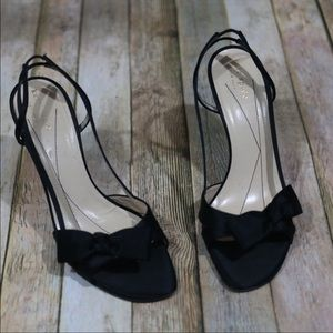 Kate Spade satin silk heels